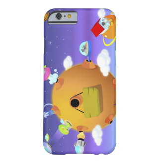 UFO's with planets in space Barely There iPhone 6 Case