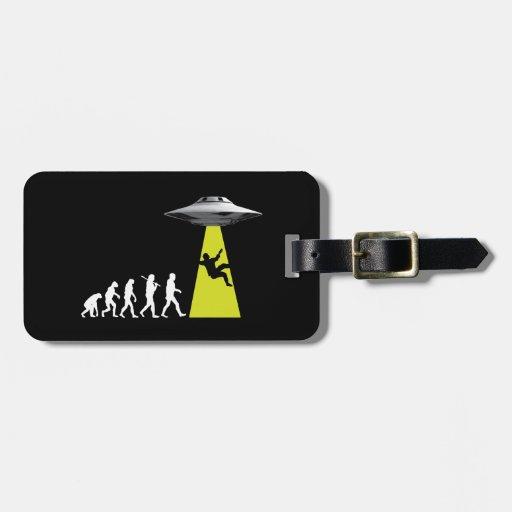 UFOvolution Luggage Tag