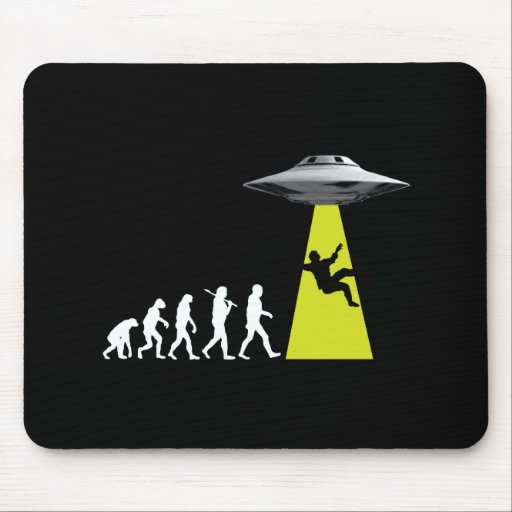 UFOvolution Mouse Pads