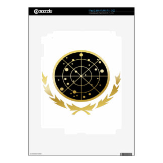 UFP Coat of Arms Decals For The iPad 2