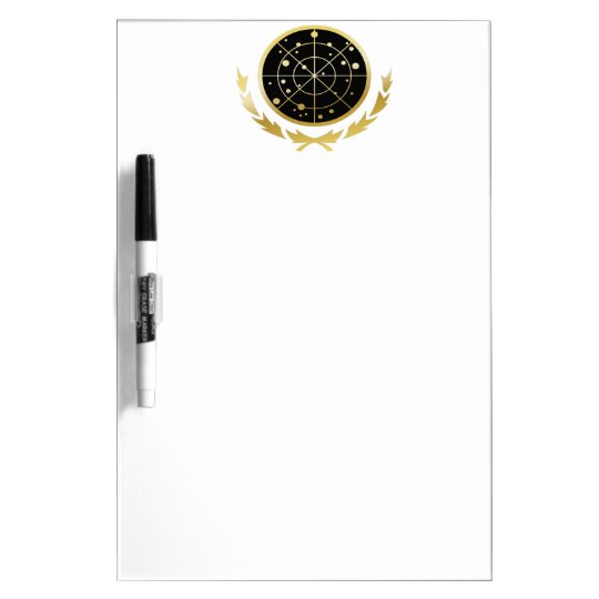 UFP Coat of Arms Dry Erase Board