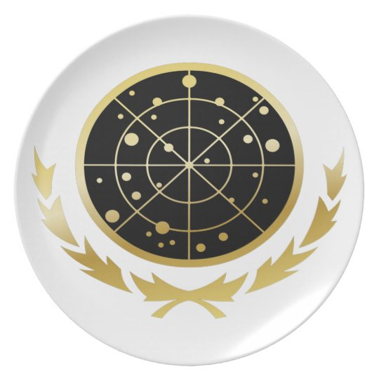 UFP Coat of Arms Melamine Plate