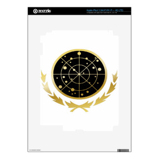 UFP Coat of Arms Skins For iPad 3