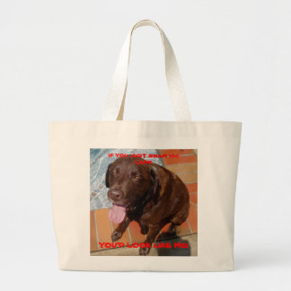 ug i'm tired..... large tote bag