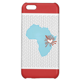 Uganda Africa Heart Love Chevron iPhone Case Case For iPhone 5C