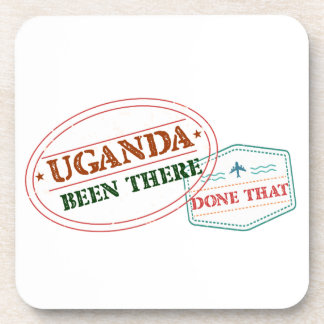 Uganda Been There Done That Beverage Coaster