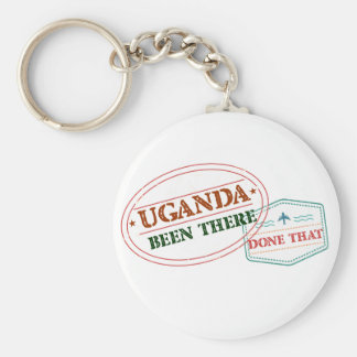Uganda Been There Done That Keychain