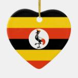 Uganda Christmas Ornament