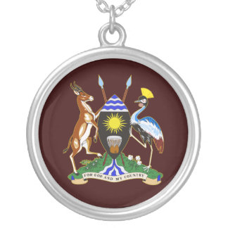 Uganda COA Round Pendant Necklace