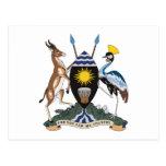 Uganda Coat of Arms Postcard