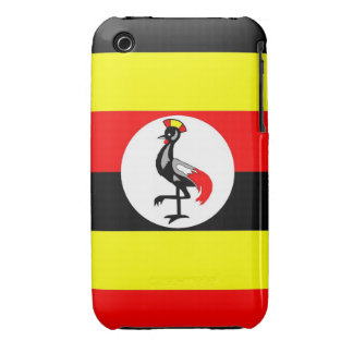 uganda country flag case Case-Mate iPhone 3 case