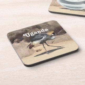Uganda Crested Crane Coaster