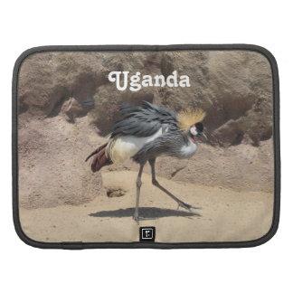 Uganda Crested la grúa Planificadores