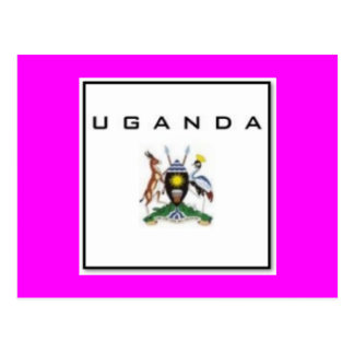 Uganda Customized Product Post Card