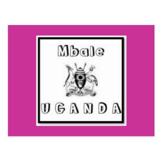 Uganda Customized Products Post Cards