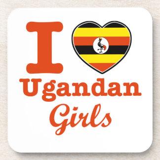 Uganda design beverage coaster