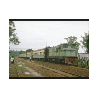 Uganda, E Africa, URy #04_Trains of the World Canvas Print