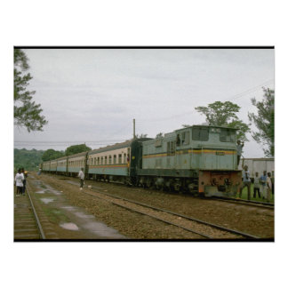 Uganda, E Africa, URy #04_Trains of the World Poster