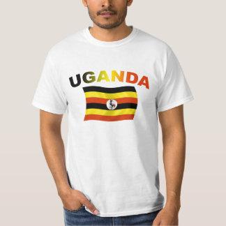 Uganda Flag 2 T-shirt