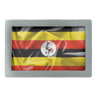 Uganda Flag Belt Buckle