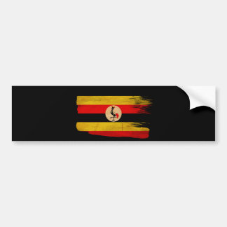 Uganda Flag Car Bumper Sticker