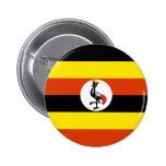 Uganda Flag Button