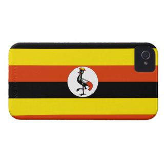 Uganda Flag Case-Mate iPhone 4 Cases