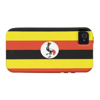 Uganda Flag iPhone 4 Cover