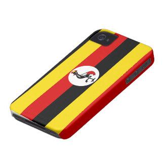 Uganda Flag iphone 4 case
