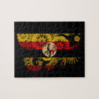 Uganda Flag Jigsaw Puzzle
