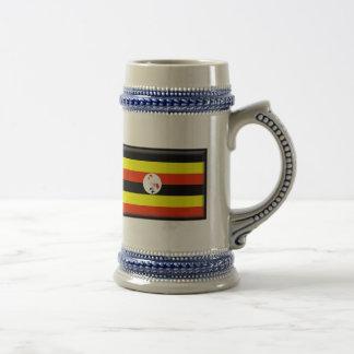 Uganda Flag Coffee Mugs