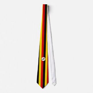 Uganda Flag Neck Tie