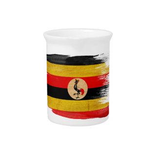 Uganda Flag Drink Pitcher