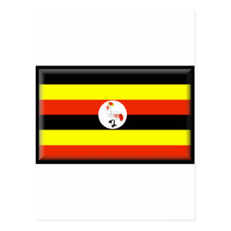 Uganda Flag Post Cards