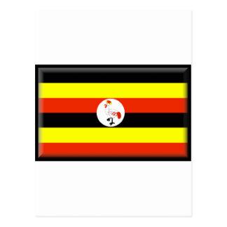 Uganda Flag Post Cards