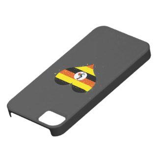 Uganda Flag Shining Beautiful iPhone 5 Cases