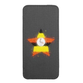 Uganda Flag Shining iPhone 5 Pouch