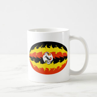Uganda Gnarly Flag Mug