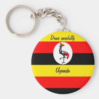 Uganda Llavero Redondo Tipo Pin