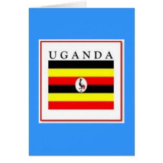 Uganda modificó el producto para requisitos partic tarjeta de felicitación