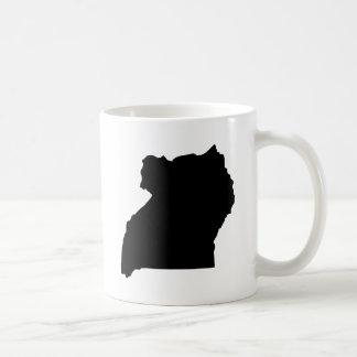 Uganda Classic White Coffee Mug