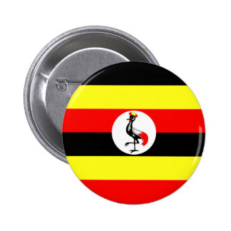 Uganda Pinback Buttons
