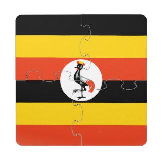 Uganda Puzzle Coaster