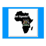Uganda T-Shirts And Etc Postcards