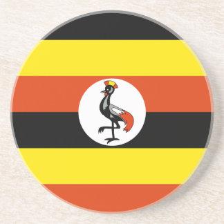 Uganda, Uganda flag Coasters