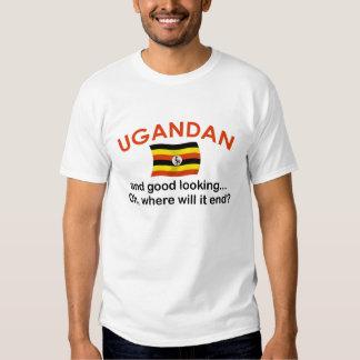 Ugandan apuesto playera