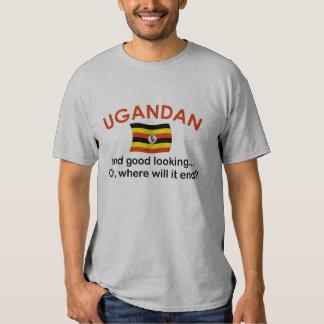 Ugandan apuesto playeras