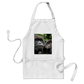 Ugandan Gorillas Adult Apron