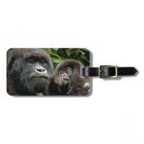 Ugandan Gorillas Luggage Tag