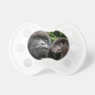 Ugandan Gorillas Baby Pacifier
